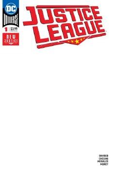 Justice League #1 Blank Var Ed