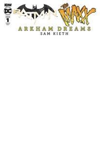 Batman The Maxx #1 (Of 5) Arkham Dreams 10 Copy Incv Blank (