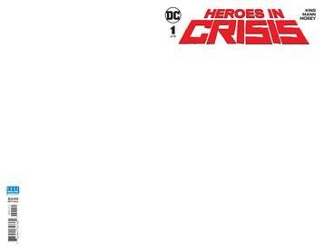 Heroes In Crisis #1 (Of 7) Blank Var Ed
