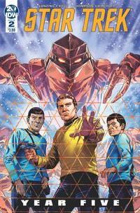 Star Trek Year Five #2 Cvr A Thompson