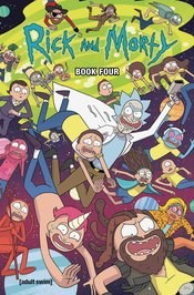 Rick And Morty Hc Book 04 Dlx Ed (C: 1-0-0)