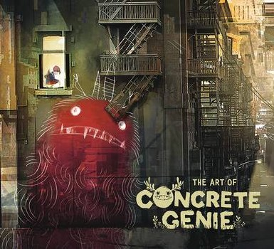 Art Of Concrete Genie Hc (C: 0-1-2)