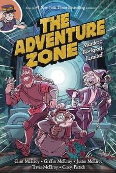 Adventure Zone Gn Vol 02 Murder On Rockport Limited (C: 1-1-