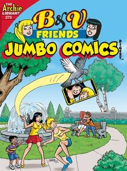 B & V Friends Jumbo Comics Digest #273