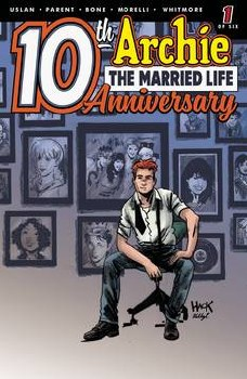 Archie Married Life 10 Years Later #1 Cvr D Hack