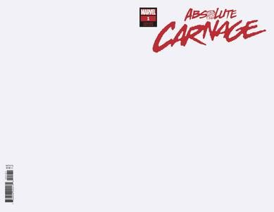 Absolute Carnage #1 (Of 4) Blank Var Ac