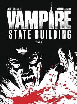 Vampire State Building #1 CvrC Adlard B&W& Red