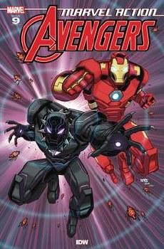 Marvel Action Avengers #9 Sommariva (C: 1-0-0)
