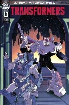 Transformers #13 Cvr A Chan