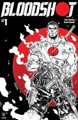 Bloodshot (2019) #1 Cvr D B&W & Red Meyers (Net)