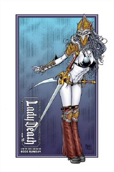 Lady Death (Ongoing) #15 Eccc Sunday (Mr)
