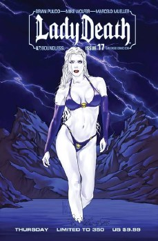 Lady Death (Ongoing) #17 Sdcc Thurs (Mr)