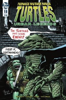 Tmnt Urban Legends #18 Cvr A Fosco