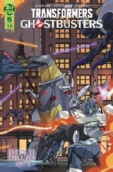 Transformers Ghostbusters #5 (Of 5) Cvr A Schoening (C: 1-0-