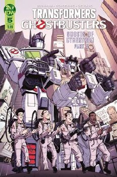 Transformers Ghostbusters #5 (Of 5) Cvr B Roche (C: 1-0-0)