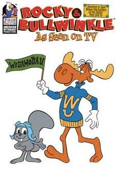Rocky & Bullwinkle Seen On Tv #2 Ltd Ed Retro Animation Cvr