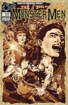 Monster Men Soul Of Beast #1 Cvr C Ltd Pulp Horror