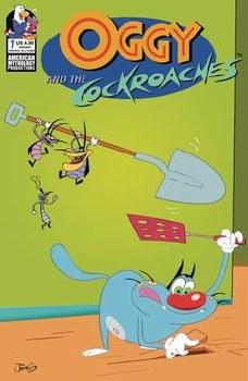 Oggy & The Cockroaches #1 Cvr B Rankine