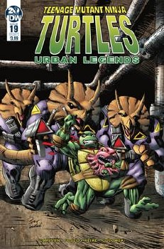 Tmnt Urban Legends #19 Cvr A Fosco