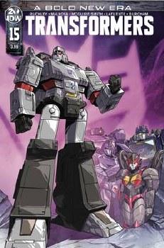 Transformers #15 Cvr A Lawrence