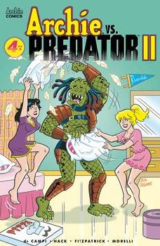 Archie Vs Predator 2 #4 (Of 5) Cvr C Golliher