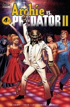 Archie Vs Predator 2 #4 (Of 5) Cvr F Pepoy