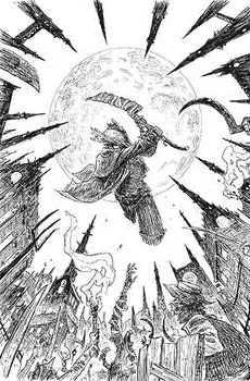 Bloodborne #13 Sdcc 2019 B&W Var Cvr (Mr)