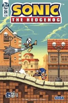 Sonic The Hedgehog #24 Cvr B Hammerstrom (C: 1-0-0)