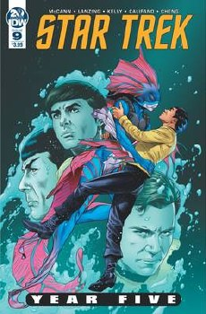 Star Trek Year Five #9 Cvr A Thompson