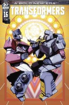Transformers #16 Cvr A Howell (C: 1-0-0)