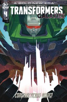 Transformers Galaxies #4 Cvr B Pitre-Durocher (C: 1-0-0)