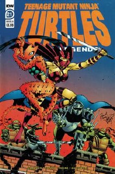 Tmnt Urban Legends #21 Cvr B Fosco & Larsen (C: 1-0-0)