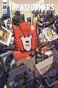 Transformers Galaxies #5 Cvr A Milne (C: 1-0-0)