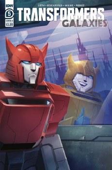 Transformers Galaxies #5 Cvr B Pitre-Durocher (C: 1-0-0)