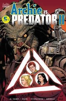 Archie Vs Predator 2 #5 (Of 5) Cvr F Torres