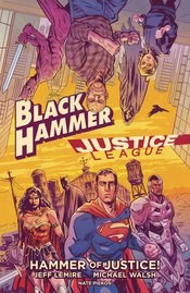 Black Hammer Justice League Hammer Of Justice Hc (C: 0-1-2)