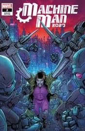 2020 Machine Man #2 (Of 2) Ryp Var