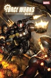 2020 Force Works #3 (Of 3) Brown Var