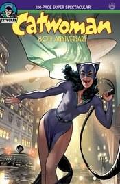 Catwoman 80th Anniv 100 Page Super Spect #1 1940s Adam Hughe