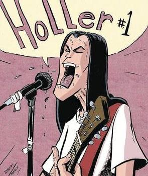 Holler #1 Cvr B Massie