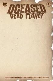Dceased Dead Planet #1 (Of 6)Blank Var Ed