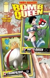 Bomb Queen Trump Card #4 (Of 4) Cvr B Robinson (Mr)