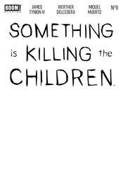 Something Is Killing Children#11 Cvr E Blank Sketch Var