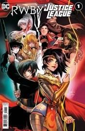 Rwby Justice League #1 Cvr A Andolfo