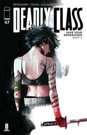 Deadly Class #47 Cvr B Dekal (Mr)