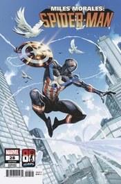 Miles Morales Spider-Man #28 Captain Am 80th Var *LIMIT 1*