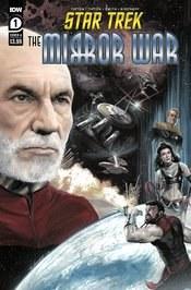 Star Trek Mirror War #1 Cvr A J K Woodward