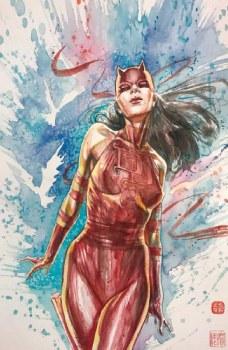 Daredevil #25 David Mack 2nd Print Virgin Cover B