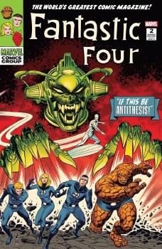Fantastic Four Antithesis #2 Patrick Zircher Cvr A Var