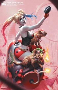 Harley Quinn #75 Kendirck Lim Cover B Virgin Var